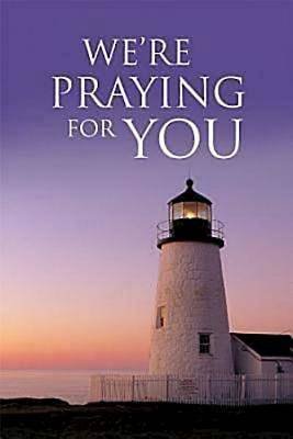 Were Praying For You Lighthouse Postcard (Pkg of 25)