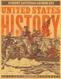 United States History Student Activities Teachers Edition 4th Edition