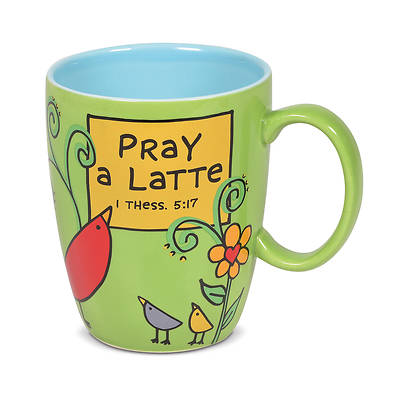 Picture of Pray a Latte 16 Oz Mug