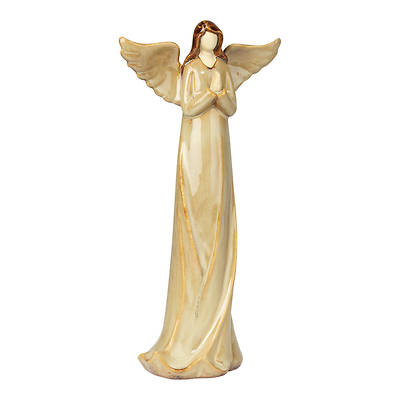 """Picture of Angel Praying Hands Ceramic 11.5""""H"""