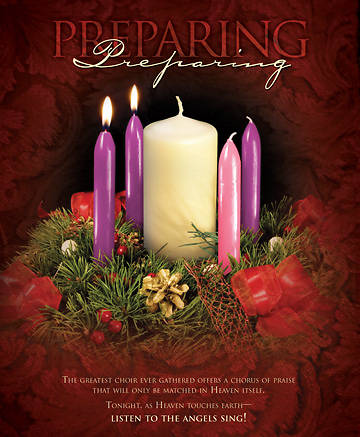 Advent Week 2/Preparing Bulletin, Large (Package of 100)