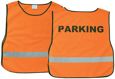 Parking  Orange Safety Vest