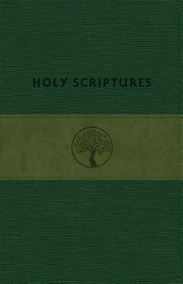 Picture of Tlv Personal Size Giant Print Reference, Holy Scriptures, Grove/Olive Leathertouch