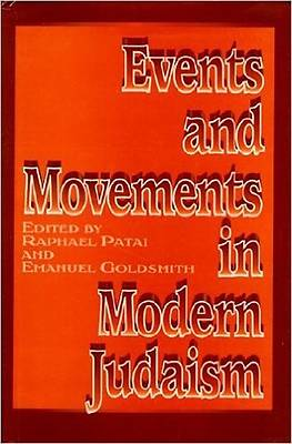 Picture of Events and Movements in Modern Judaism