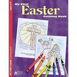 My First Easter Coloring Book