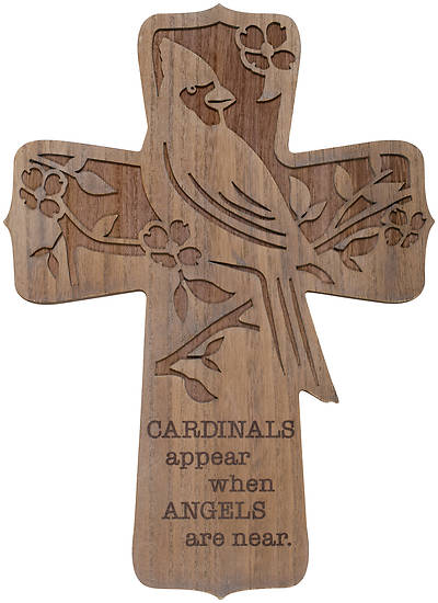 Picture of Cardinals Appear When Angels are Near Wall Cross