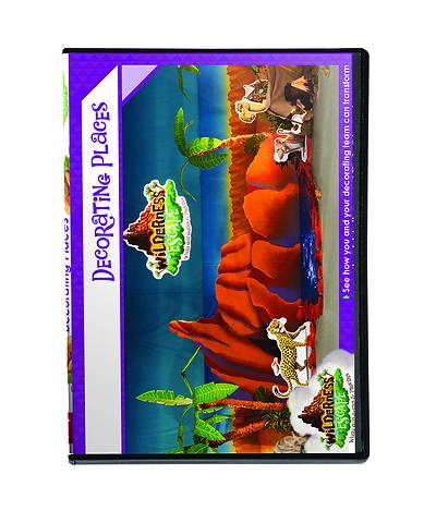 Picture of Vacation Bible School (VBS) 2020 Wilderness Escape Decorating Places DVD