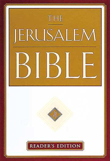 Picture of Jerusalem Bible