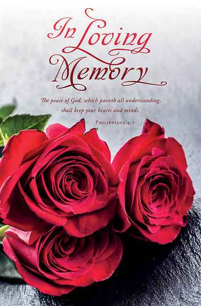 In Loving Memory Funeral Regular Bulletin