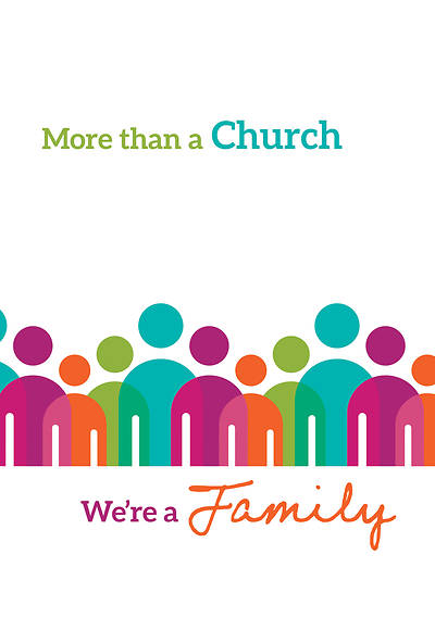 More Than a Church Welcome Folder