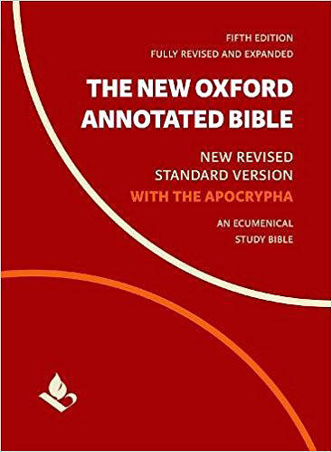 Picture of The New Oxford Annotated Bible with Apocrypha