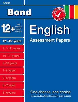 Picture of Bond English Assessment Papers 12+-13+ Years