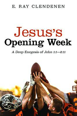 Picture of Jesus's Opening Week