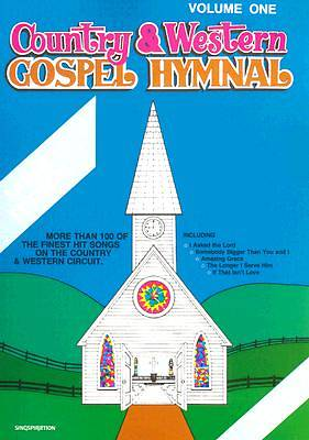 Picture of Country & Western Gospel Hymnal Volume One; Large Book