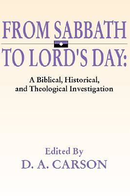 From Sabbath to Lords Day