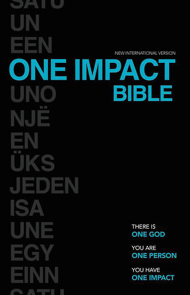 NIV One Impact Bible