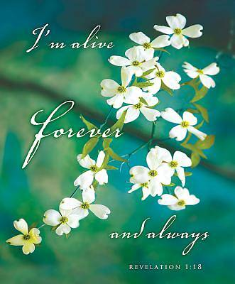 Im Alive Easter Dogwood Bulletin, Large (Pkg of 50)