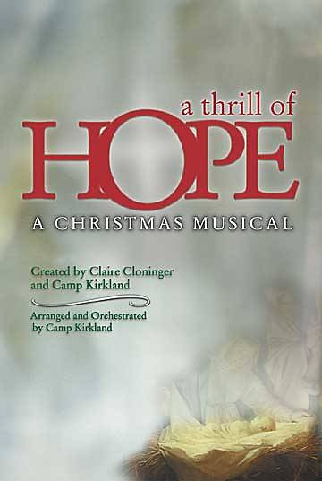 A Thrill of Hope Choral Book