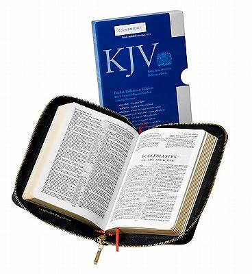 Picture of King James Version Pocket Reference Edition Bible