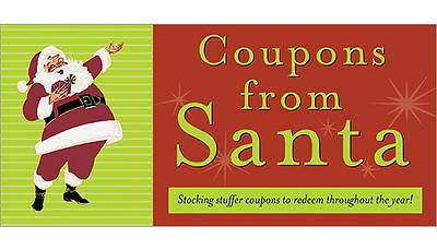 Coupons from Santa