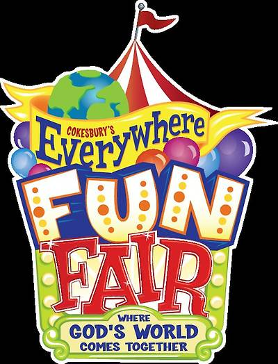 Vacation Bible School 2013  Everywhere Fun Fair  Downloadable High Resolution Logo VBS