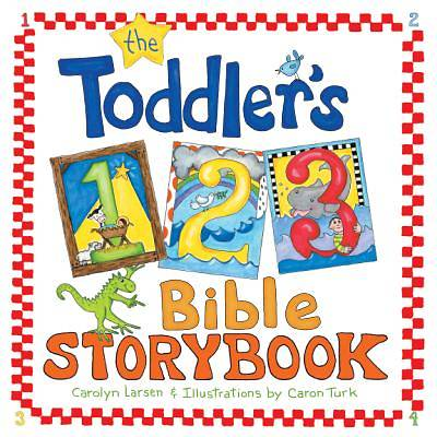 The Toddlers 1-2-3 Bible Storybook