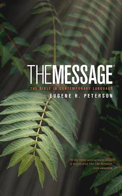 Picture of The Message Bible Numbered Edition Personal Size with Topical Concordance