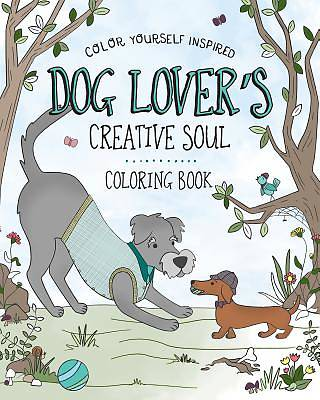 The Dog Lovers Creative Soul Coloring Book