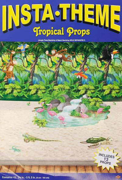 "Picture of Vacation Bible School (VBS 2020) Rainforest Animal Props - 2 1/4"" - 5'5"""
