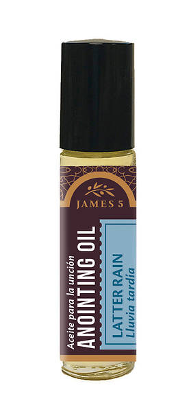 James 5 Latter Rain Roll On Anointing Oil - 1/3 oz.