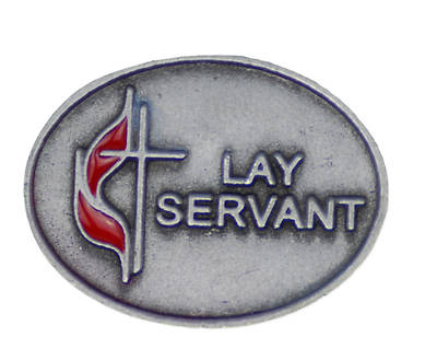 Picture of UM Lay Servant Lapel Pin