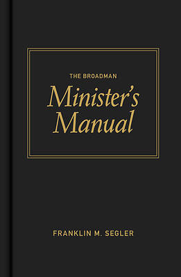 Picture of The Broadman Minister's Manual