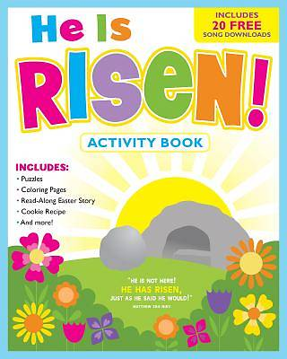 Picture of He Is Risen! Activity Book and Free Music Download