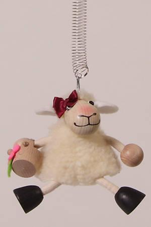 Picture of Bouncies Lamb White