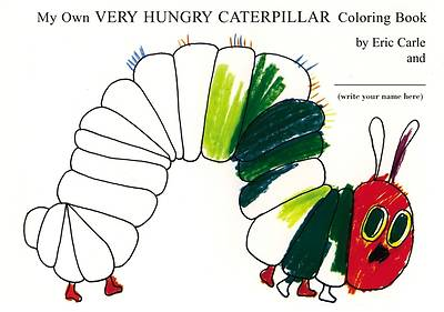 Picture of My Own Very Hungry Caterpillar Coloring Book