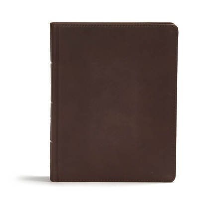 CSB Study Bible, Black Genuine Leather