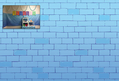 Picture of Vacation Bible School (VBS) 2020 Knights of North Castle - Castle Wall Background