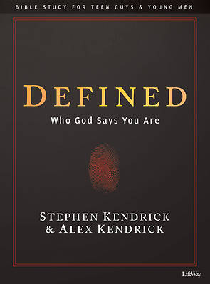 Picture of Defined - Teen Guys' Bible Study Book
