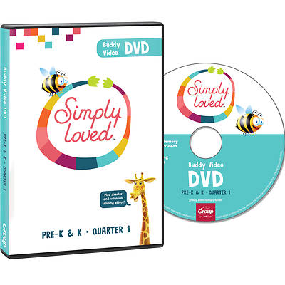 Picture of Simply Loved Q1 PreK-K Buddy Video DVD