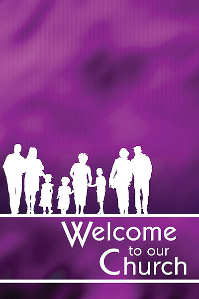 Picture of Welcome to Our Church Welcome Folder - Package of 12