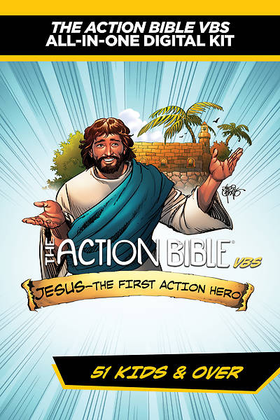 Vacation Bible School (VBS) 2018 Action Bible Starter Kit - 51 Kids and Over - 51 Kids and Over