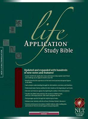 Life Application Study Bible-Nlt with CDROM