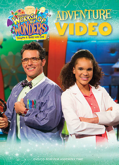 Vacation Bible School (VBS) 2014 Workshop of Wonders Adventure Video DVD/CD-ROM for Assembly Time