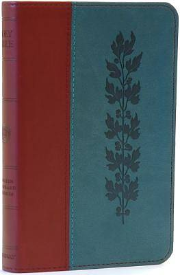 Compact Trutone Bible-Esv-Vine Design