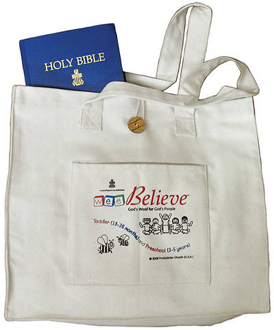 Wee Believe Bible Storyteller Bag