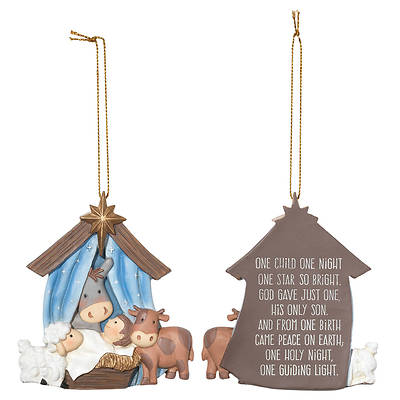 Picture of One Child Night Holy Family Star Ornament