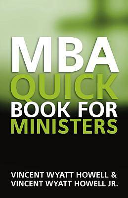 Picture of MBA Quick Book for Ministers