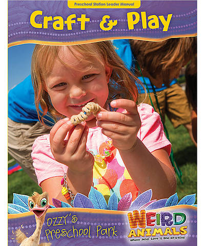 Group VBS 2014 Weird Animals Ozzys Preschool Park Craft & Play Leader Manual