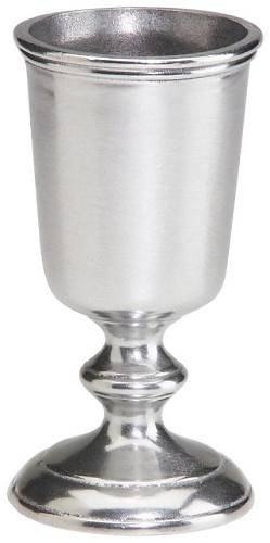 Goblet Danforth Pattern Pewter 12 Oz