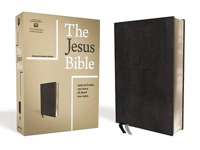 Picture of The Jesus Bible, ESV Edition, Leathersoft, Black
